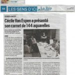 article publié dans la république des pyrénées du 14 octobre 2019, écrit par didier rispal