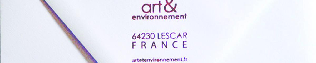 enveloppe art et environnement